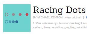 racing dots